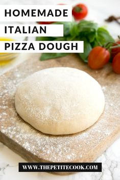 the ONLY recipe you'll ever need for authentic, thin and crispy, Italian homemade pizza dough - Naturally vegan and dairy-free, and just 5 ingredients needed! The Best Homemade Pizza Dough Recipe, Italian Pizza Dough Recipe, Easy Homemade Pizza, Easy Pizza Dough, Pizza Dough With Yeast, Self Rising Pizza Dough Recipe, Recipe For Pizza Dough, Homeade Pizza Dough, Semolina Pizza Dough