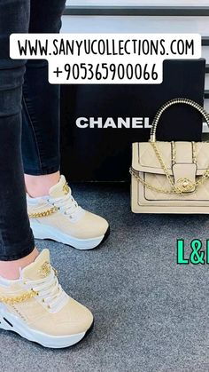 Wedge Sneakers, Platform Sneakers, High Top Sneakers, Chanel Black, Coco Chanel, Gucci Boots Mens, Chanel West Coast, Chanel Cruise, Timberland Boots