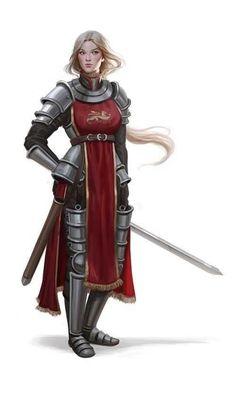 f Paladin Plate Armor Cloak Sword sm human female knight Inspiration Drawing, Fantasy Inspiration, Character Inspiration, Character Ideas, Character Art, Dnd Characters, Fantasy Characters, Female Characters, Female Armor