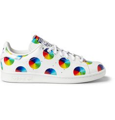 adidas Originals Stan Smith Printed Leather Sneakers | MR PORTER