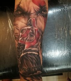 #GodofWar #Tattoo #sleeve