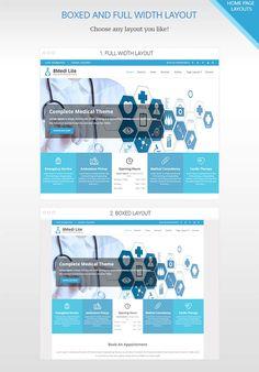 How to create a medical website in WordPress using EightMedi?
