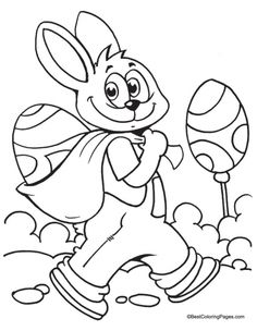 Easter coloring page   Download Free Easter coloring page for kids   Best Coloring Pages