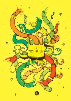 FDM : : Ilustra Revista Zipper / Venezuela by Annie Pereda, via Behance