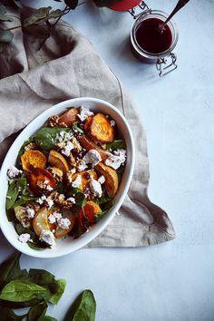 St[v]ory z kuchyne   Sweet potato and pear salad