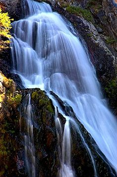 Reconnect with nature.  Photo of Cascade du Boréon by Jean-Bernard Augier - France