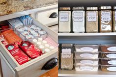 Organize your ENTIRE kitchen with just one trip to the Dollar Store! These Dollar Store organization ideas will declutter your kitchen & save you money!