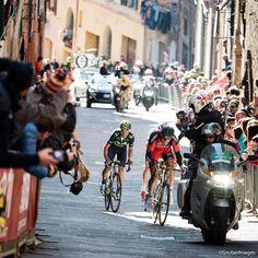 Strade Bianche finale, just before Valverde got blown away