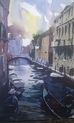 Venice Canal San Polo district Tim Wilmot