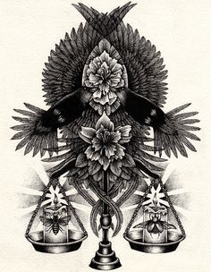 Annita Maslov – Dotwork Illustrations