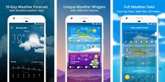 Every day huge number of Android apps and games are submitted to the Play Store. Each month, we're going to highlight few best new Android apps. 10 Day Weather Forecast, Weather Data, Android Apps, Highlight, Number, Technology, Play, Games, Store