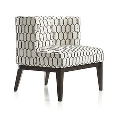 Grayson Chair  | Crate and Barrel Fantastically comfy chair and perfect scale for living room