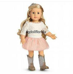 "American Girl 18/"" Doll Tenney Grant Picnic Set MENU ONLY NIP"