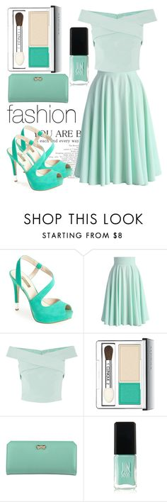 """""""Untitled #42"""" by zahraa-alfardan ❤ liked on Polyvore featuring GUESS, Chicwish, Clinique, Zodaca and JINsoon"""