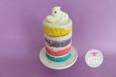 EASY MINI NAKED EASTER CAKE
