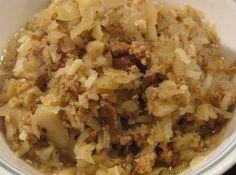 Slow Cooker Cabbage Ground Beef Stew   RecipeLion.com