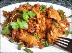 SMAŽENÁ RÝŽE S KUŘECÍM MASEM :: Tipy na Výlety a zábava Food And Drink, Meat, Chicken, Indie, Cubs