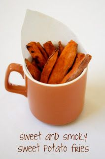 Sweet and Smoky Sweet Potato Fries : Oven Love