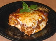 If you like your lasagna meaty and cheesy, then you should try this recipe for meatball lasagna. It's made with chunky lean beef mixed with spiced breadcrumbs and cooked with marinara sauce, layered with lasagna noodles and three different kinds of cheese. It's very easy to make, it's very filling, and it's so very good.