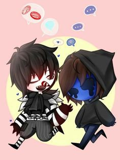 Laughing Jack, Eyeless Jack, candy, talking, cute, chibi; Creepypasta