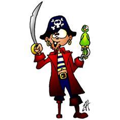 Pirate Captain fc T-Shirt design. #Tshirts #illustration #design #drawing #customprint #POD #CardvibesCatalog #Cardvibes #Tekenaartje #Zazzle #Spreadshirt #Redbubble #Society6