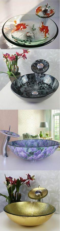 badezimmer deko moderne bader led waschbecken Badezimmer Ideen - moderne deko badezimmer