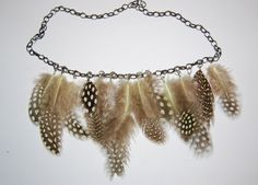 10. Learn how to make jewelry like a real jewelry designer, and put feathers on a necklace. | Make 33 Pretty Things With (Cruelty-Free) Feathers
