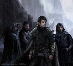 Looks like some guys who'd definitely come out in this story... Members of the Syndicate?