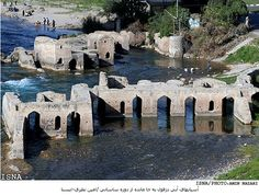 The old bridge in Dezful, Iran - hope to see it again someday.