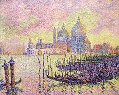 Signac, Paul Grand Canal, Venise, 1905 The Toledo Museum of Art, USA