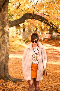 blush and marigold fall outfit