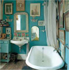 Gallery Wall in Bathroom