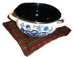 Cinnamon pot holder. A nice Christmas gift, or to make the house smell a bit more Christmas-y