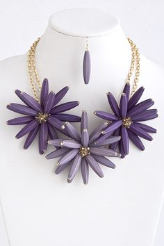 New arrival to The Shopping Bag! Our Bethany Flower Necklace is sure to brighten up your spring.