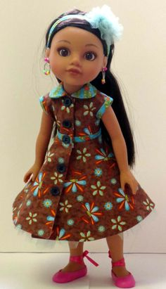 This dress was made from a Betsy McCall pattern...I have the pattern and made the dress.