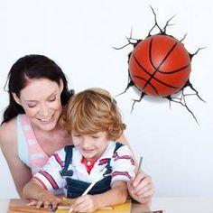 Sports 3D Wall Nightlight - Basketball : Target