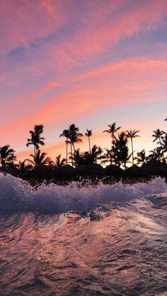 Hermoso Sunset Beach Chorro off en el extranjero Personalizado Invitaciones De Boda