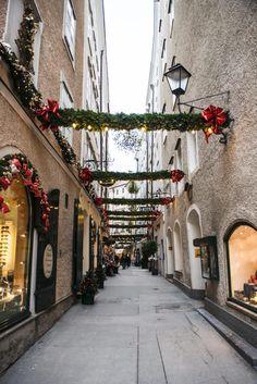 5 Dinge, die man in Salzburg zur Weihnachtszeit erleben sollte - Sommertage Bangkok Thailand, Thailand Travel, Croatia Travel, Italy Travel, Strasbourg, Vienna Christmas, Salzburg Austria, Heart Of Europe, Las Vegas Hotels