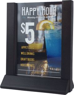 Wood Menu Table Stand - Looking to display your new food and drink items right on the tables or at the bar? Then table top holders are the perfect additions to your bar or restaurant! These menu display stands come in a variety of styles and colors, and will help you advertise specials in your bar or restaurant.