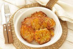 Recette de galettes de pommes de terre au four au Thermomix TM31 ou TM5. Préparez cet accompagnement en mode étape par étape comme sur votre appareil !
