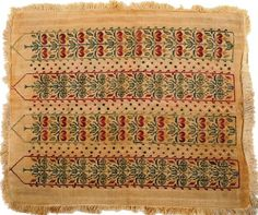 Antique 19th C Greek Island Embroidery