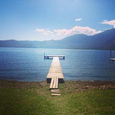 Coatepeque Lake  El Salvador http://instagram.com/mariajosediazul