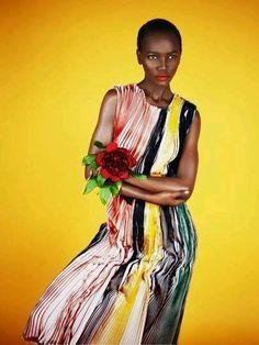 Herieth Paul by Erik Madigan Heck for Harper's Bazaar UK, August 2014 Star Fashion, Fashion Models, Fashion Fashion, High Fashion, Artistic Photography, Fashion Photography, Art Model, Harpers Bazaar, Female Models