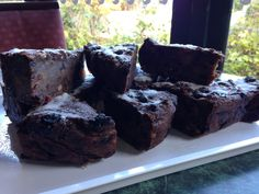 Lyn's famous bread pudding, a firm favorite with all of our customers