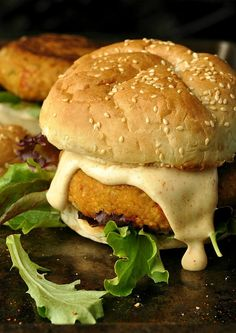 Cajun Chickpea Sweet Potato Burgers: Flecked with the holy trinity and spiced to perfection, these veggie burgers are full of flavor and healthy too!