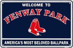 Go to Fenway Park and watch my favorite baseball team play ball. #bucketlist
