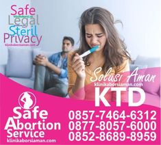 Klinik Aborsi Legal menyediakan solusi aborsi aman dan legal metode vakum aspirasi di Klinik Aborsi Legal Jakarta Ditangani Oleh Dokter Spesialis Kandungan Dengan Menggunakan Alat Medis Steril .  Solusi Aborsi Aman Melalui Cara Pengguguran Kandungan Yang Aman Dan Dapat Dibuktikan Langsung Keberhasilannya Melalui Pemeriksaan USG setelah Tindakan Aborsi Selesai dilakukan di Klinik Aborsi Legal Jakarta. Jakarta