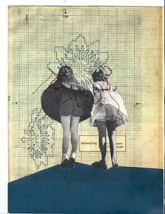 "Rhed Fawell ""Backsticking"" 2014 Collage"