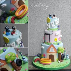 Puppy Dog Pals Cake Apollo Beach Tampa FL Birthday Celebration
