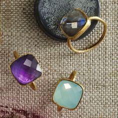 curated them cuz i like them - amethyst, chalcedony & labradorite #gifts $52